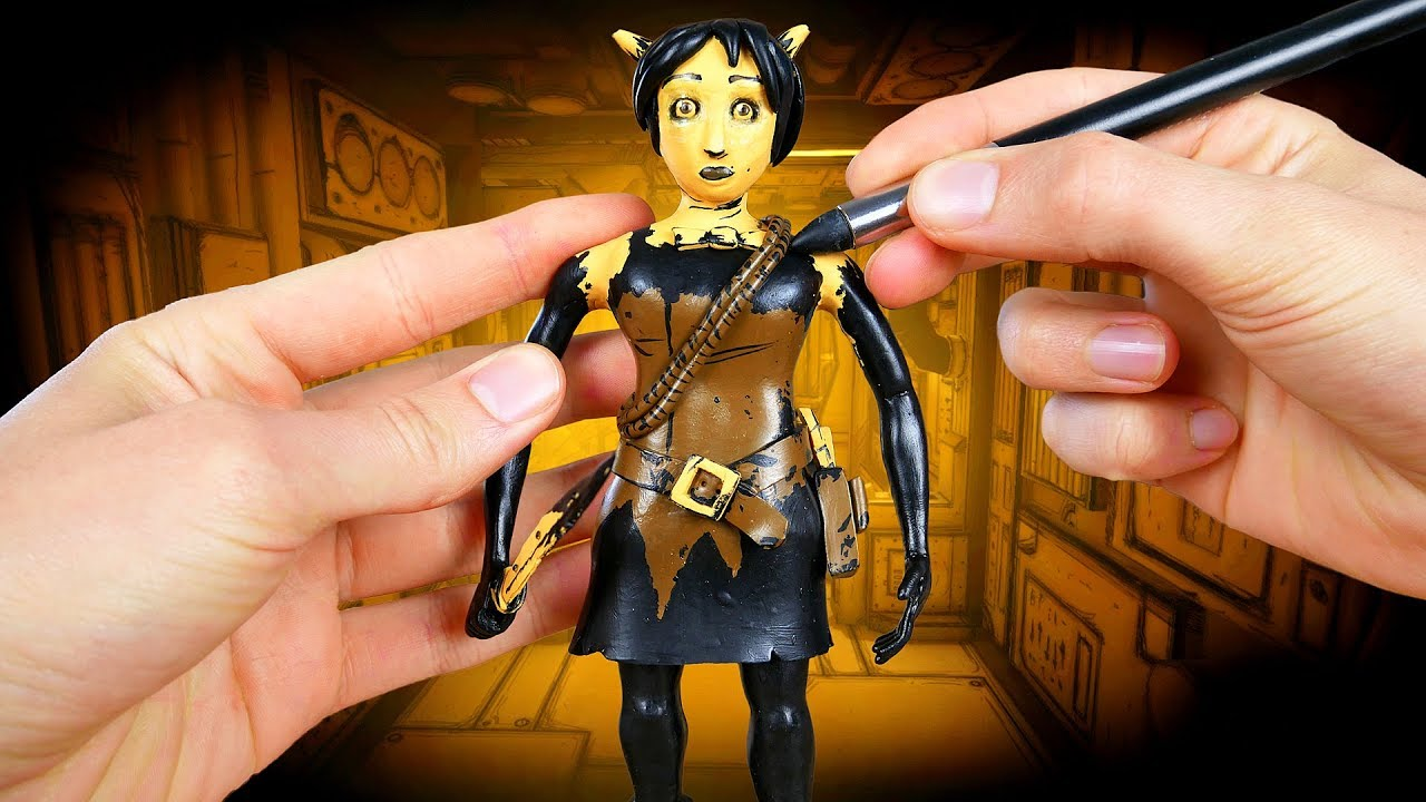 Making Allison Angel From Bendy And The Ink Machine Chapter