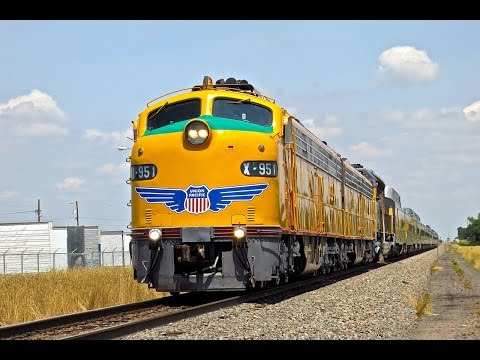 Union Pacific E9 Cheyenne Frontier Days Train in 2014