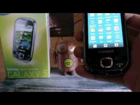 Review Samsung Galaxy 550 - Celularis.com
