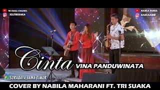 Cinta Vina Panduwinata Cover By Nabila Maharani Ft Tri Suaka