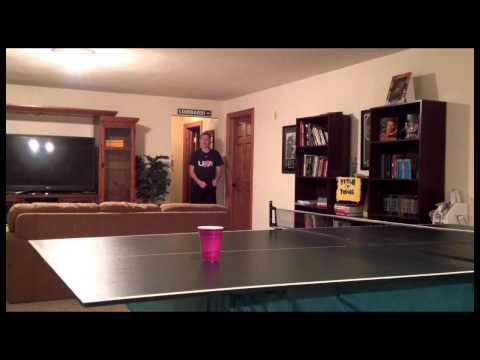 EPIC Ping Pong Ball and Cup Trick Shots