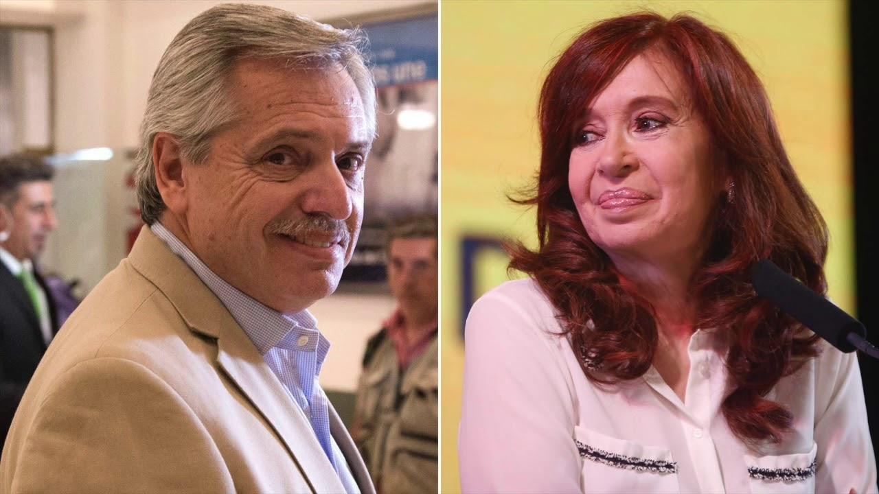 CINCO TV - Cristina Kirchner anunció que Alberto Fernández encabezará la fórmula presidencial