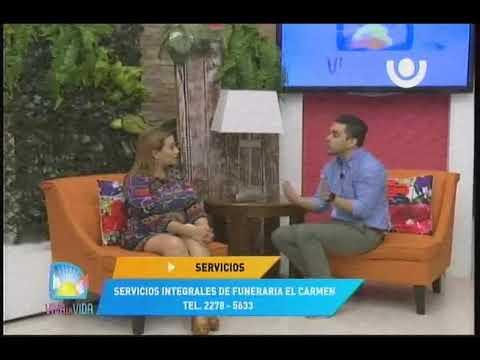 Canal 13, Revista Viva La Vida , Funeraria El Carmen
