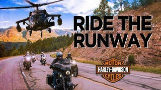 WE RODE HARLEY'S WITH A BLACKHAWK HELICOPTER // SBD FEST