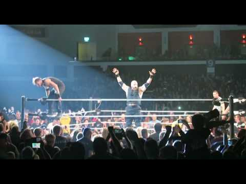 Main Event Finish At WWE Raw UK Tour Live, Motorpoint Arena, Cardiff UK