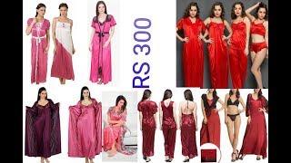 Beautiful hot nite dress designs 2018 / latest new nighty online shopping photos