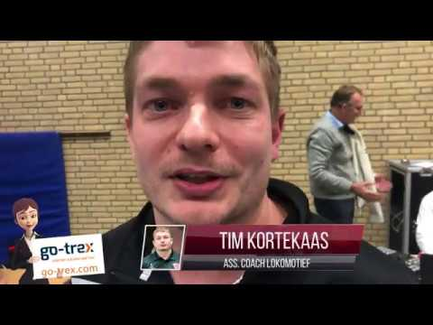 Tim Kortekaas over game vs Harlemlakers