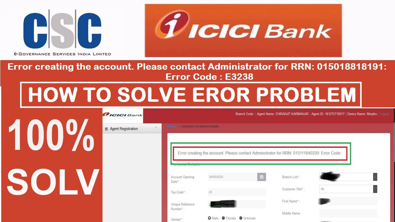 icici bank account opening for minor