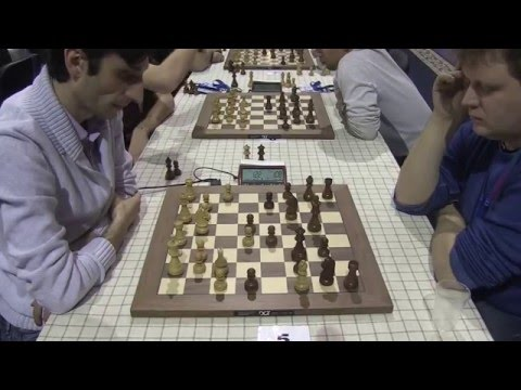 2015-12-18 Jobava - Bocharov European Chess Blitz 11 Round 1-th Game