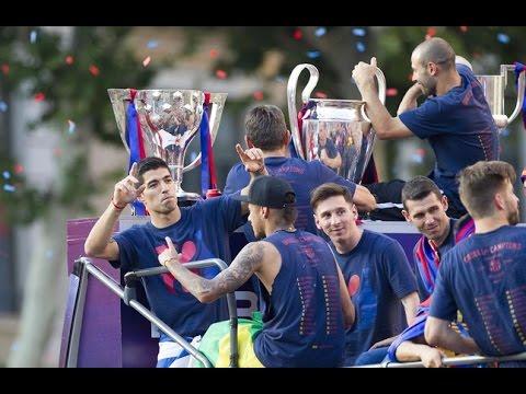 """EL TRIPLETE"" | LA PELICULA | FC BARCELONA | Temporada 2014/2015"