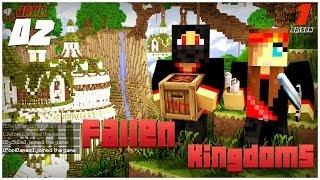 Minecraft - Fallen Kingdoms : PopiGames, BySliDe | Jour 2