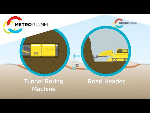 Metro Tunnel - Tunnel and Stations package of works