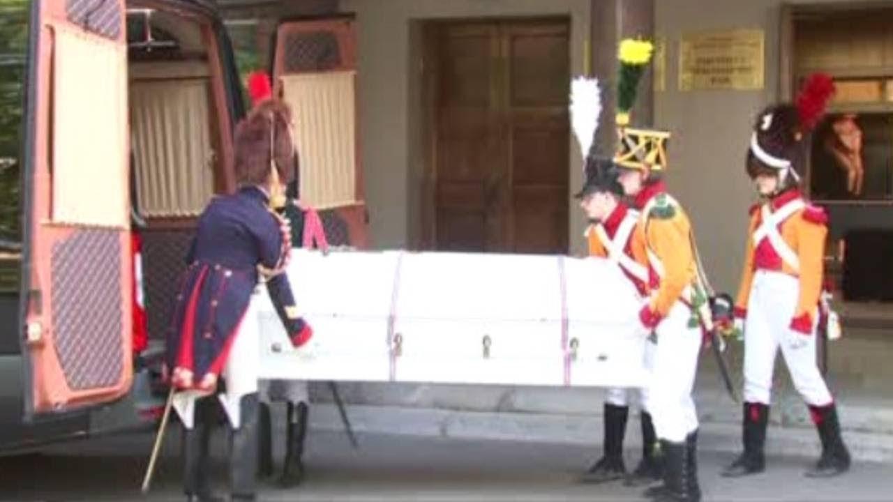 Россия передала Франции найденные останки наполеоновского генерала Гюдена