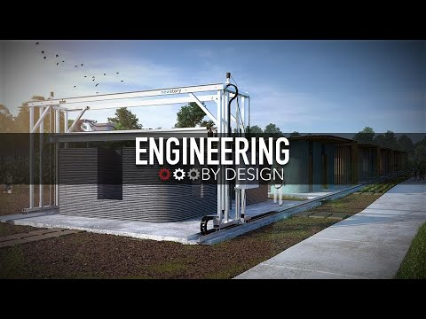 Engineering By Design: These 3D-Printed Houses Only Cost $4,000