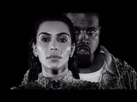 Kanye & Kim Kardashian West Shed TEARS In New