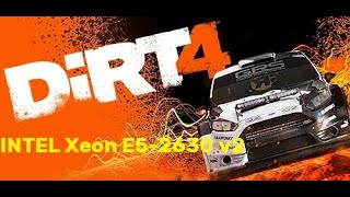 DIRT 4. FPS Test INTEL Xeon E5-2630 v2 (NVIDIA GTX 1050)