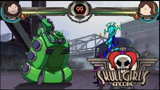 Skullgirls Endless Beta Oh Hey Big Band Colors 1 To 12
