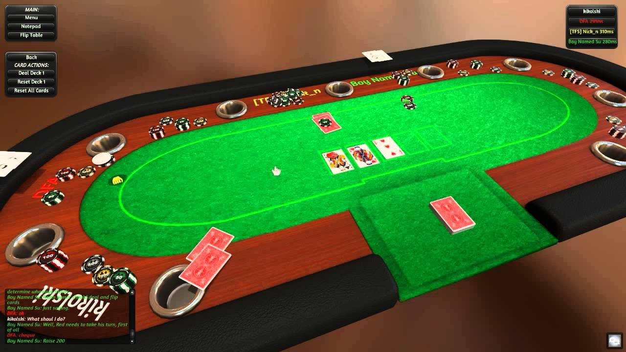 Texas Holdem Poker Simulator