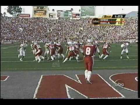 #8 Oklahoma Sooners vs. #7 Washington State Cougars - 2003 Rose Bowl