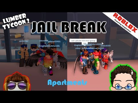 Roblox - Jail Break - Apartment Party, and Zebra Skin!!!!
