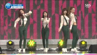 Live HD | 130511 Girl's Day - Don't Forget Me @ SBS Hope TV