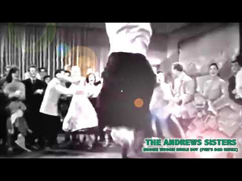 Andrews Sisters -  Boogie Woogie Bugle Boy (pHe's Drum & Bass Remix) Music Video