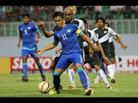 FULL MATCH: India vs Pakistan - SAFF Championship 2013