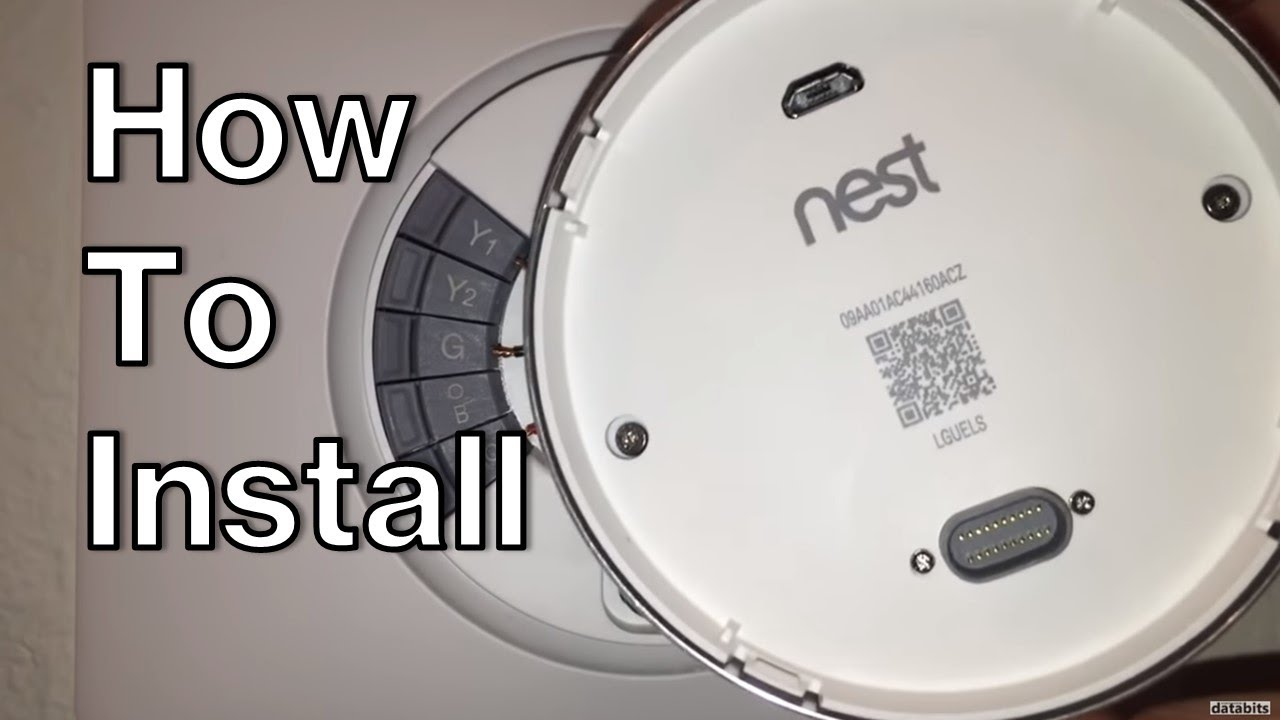 unboxing how to install nest 3rd gen smart learning thermostat youtube. Black Bedroom Furniture Sets. Home Design Ideas