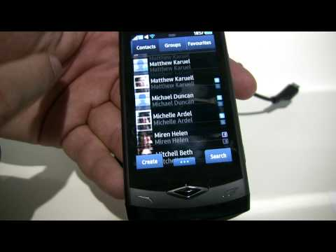Samsung Wave S8500 with BADA OS preview. From MWC 2010 Video Full HD