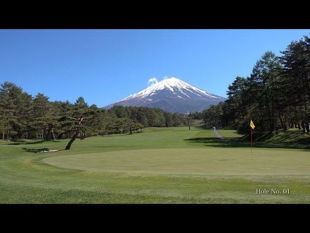 2018 絶景富士@富士レイクサイドCC(4K) Beautiful Mt. Fuji @ Fuji Lakeside C.C.(UHD)