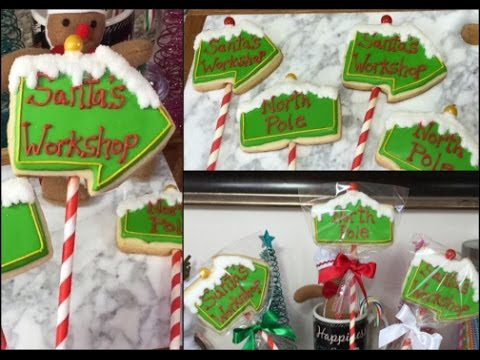 North Pole Santa S Workshop Christmas Cookies How To