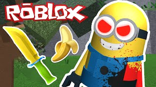 Roblox - Mystère assassiner 2 - MINION MURDERER!?
