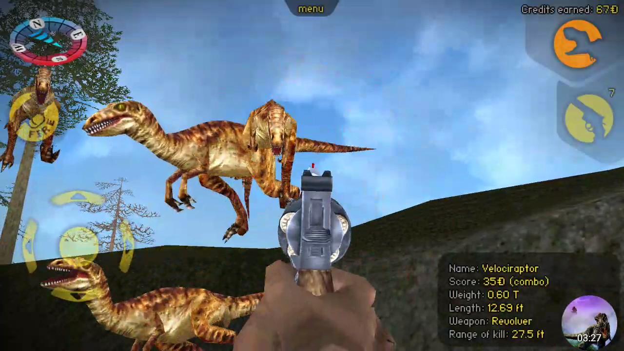Carnivores Dinosaur Hunter   Hunting Velociraptor with ...