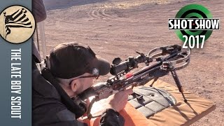 Ravin R9 Compact Crossbow: SHOT Show 2017 Range Day
