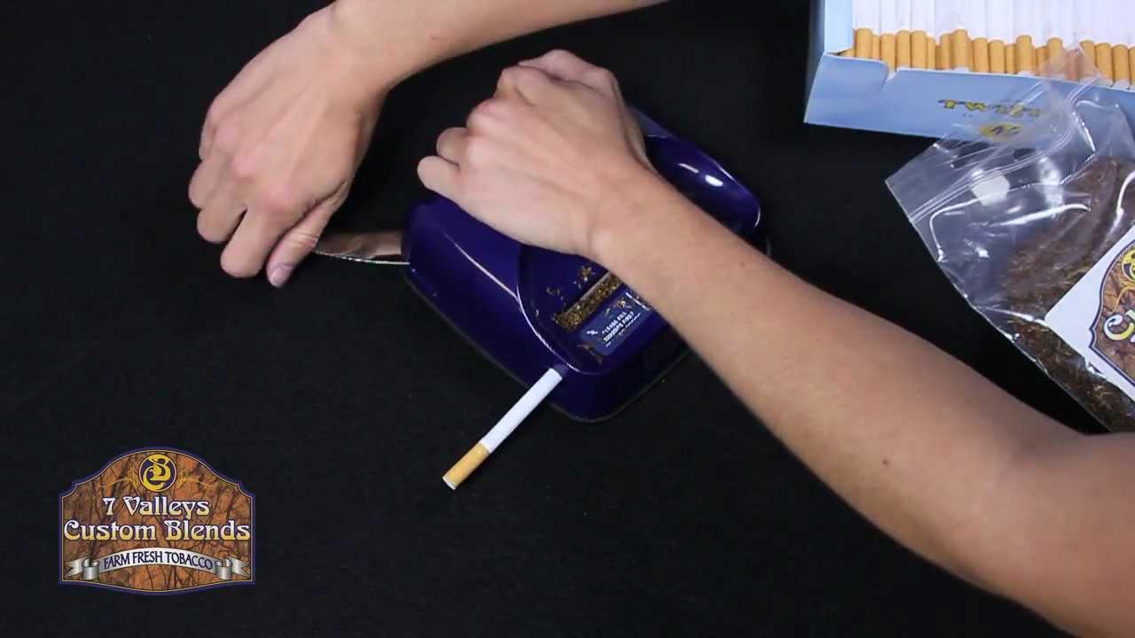 premier excel cigarette injector machine