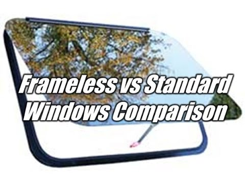 HaylettRV.com - Frameless vs Sliding Window Comparison with Josh the RV Nerd