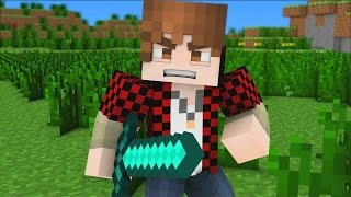 """♪ """"Bajan Canadian Song"""" - A Minecraft Parody of Imagine Dragons (Music Video)"""