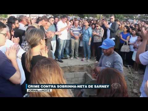 Sobrinha-neta de José Sarney é assassinada