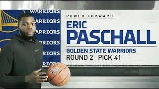 2019 NBA Draft: Warriors Draft Eric Paschall