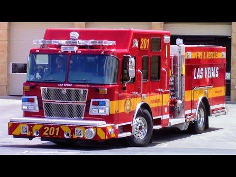 Las Vegas Fire & Rescue NEW Engine 201 (Bravo Response)