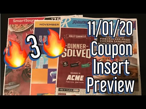 What Coupons Are We Getting? 11/01/20 Coupon Insert Preview