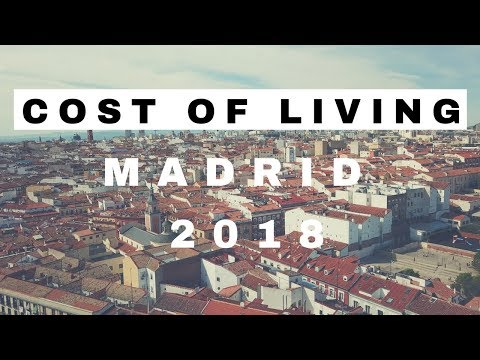 Cost of living in Madrid (Spain)