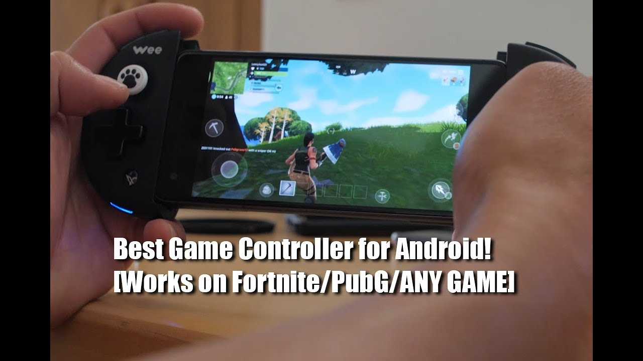 Best Game Controller for Android! [Works on Fortnite/PubG/ANY GAME]