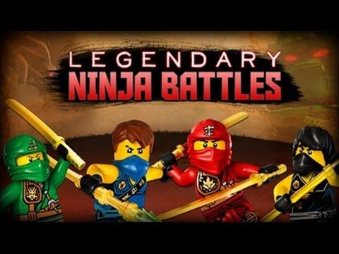 NINJAGO Legendary Ninja Battles – Full Video Game – Cartoon Network Games