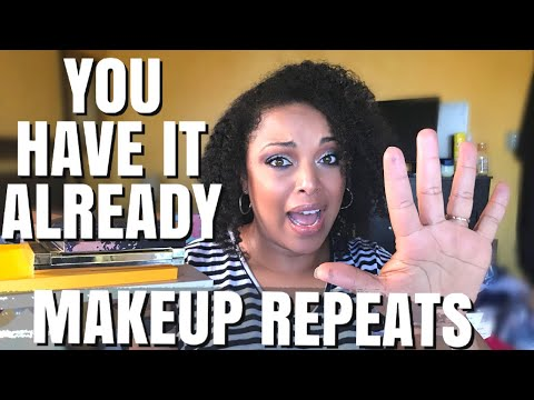 Are You in MAKEUP DENIAL GIRL?!  | Downsizing My Makeup Collection | MelissaQ thumbnail