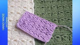 Ажурный шарф спицами. Как связать красивый, ажурный шарф спицами.