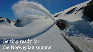 Getting ready for the Norwegian summer (Spectacular Norway)