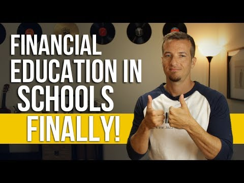 Investing and finance education in our schools finally!!!!