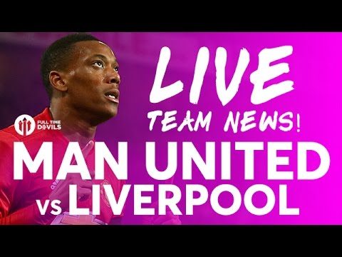 ZLATAN!!! Manchester United vs Liverpool | LIVE STREAM | Team News