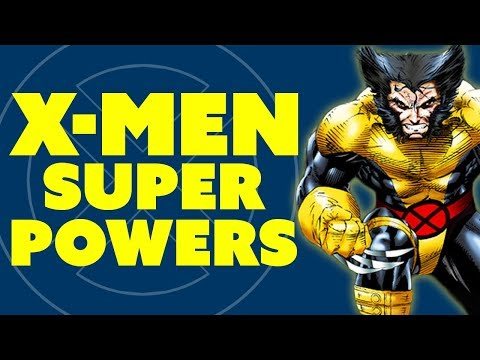 Super Powers of the X-Men & their X-Minerals